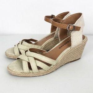 Lucky Brand Mahima Espadrille Wedges Sandal